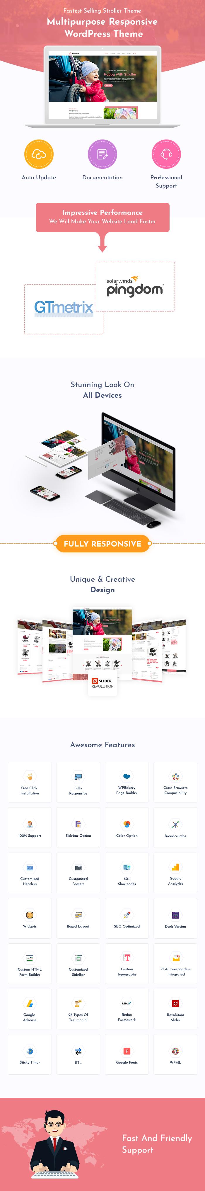 Stroller WordPress Themes