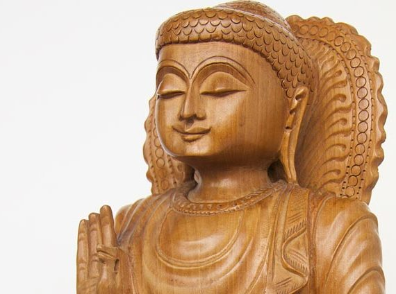 Buddha Smiling Sculpture