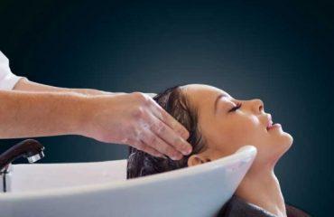 Wash hair using professional salon hair washing techniques