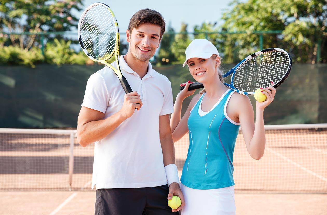 Tennis milf
